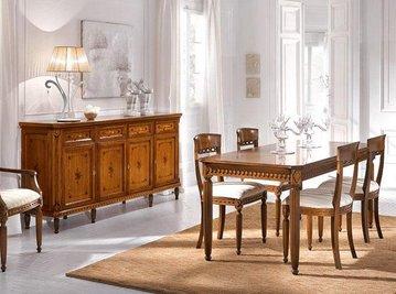 Итальянские столовые ROMA фабрики SANGIORGIO часть II