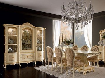 Итальянская гостиная Alysee Laccoto Oro фабрики Bacci Stile