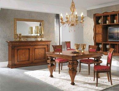 Итальянские столовые New York фабрики MIRANDOLA часть I
