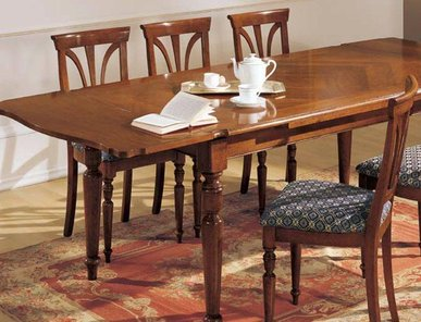 Итальянская мебель для столовой Botticelli фабрики MIRANDOLA часть I