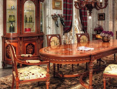 Итальянские столовые Alpi фабрики Asnaghi Interiors