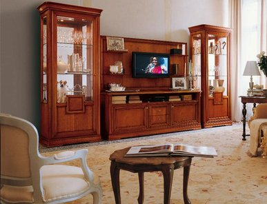 Итальянская мебель для ТВ STRADIVARI фабрики A.L.F. Group