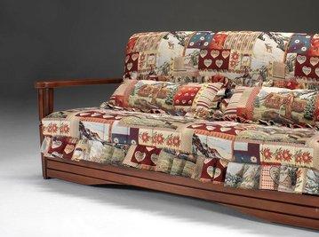 Итальянский диван-кровать QUEBEC фабрики LES COUSINS S.r.l.