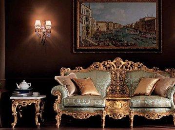 Итальянская мягкая мебель Villa Venezia фабрики MODENESE GASTONE