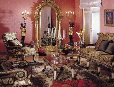 Итальянская мягкая мебель фабрики Asnaghi Interiors