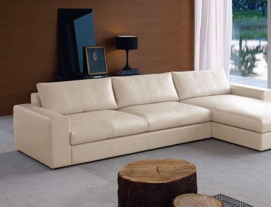 Итальянская мягкая мебель collection LEATHER фабрики ALBERTA SALOTTI
