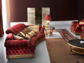 Итальянская мягкая мебель фабрики Paolo Lucchetta