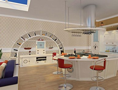 Итальянская кухня Vecchia Marina фабрики Caroti