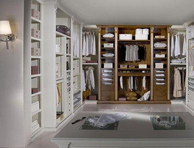 Итальянские гардеробные Cabina Armadio фабрики BAMAR