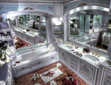 Итальянская мебель для ванной комнаты Italia фабрики Asnaghi Interiors