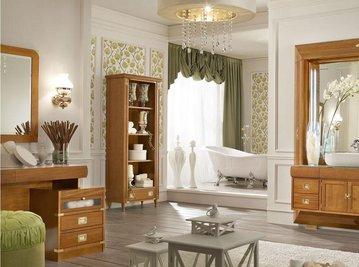 Итальянская мебель для ванной комнаты фабрики Caroti