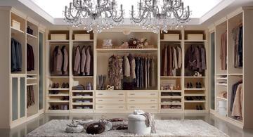 Итальянские гардеробные Morfeo 2012 фабрики Ferretti & Ferretti