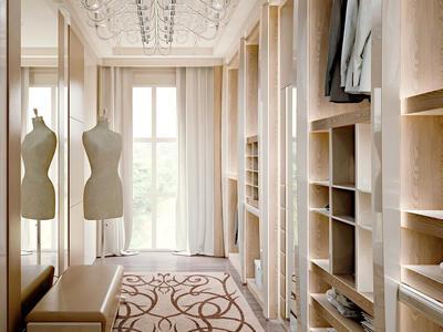 Итальянская гардеробная Divina фабрики Rampoldi Casa