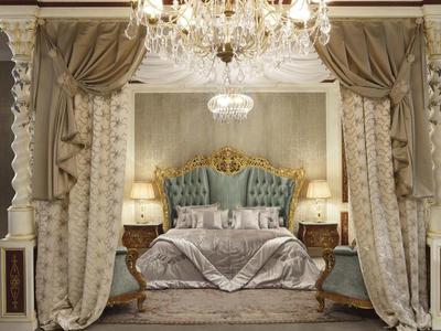 Итальянская спальня Italiian Landscape фабрики RAMPOLDI CREATIONS