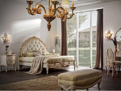 Итальянская спальня коллекция ELEGANCE от фабрики Florence Art
