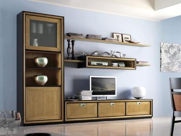 Итальянская мебель для ТВ Modulor фабрики Lubiex