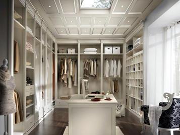 Итальянская гардеробная комната Platinum фабрики Lubiex