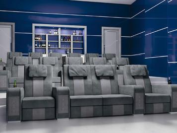 Итальянский домашний кинотеатр Desire фабрики Vismara Design