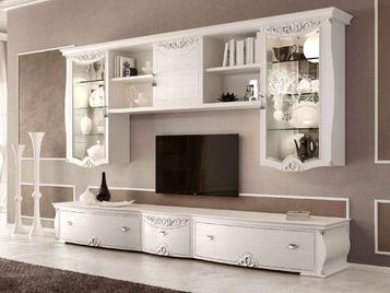 Итальянская мебель для ТВ Alchimie Naxos фабрики SIGNORINI & COCO