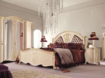 Итальянская кровать Pprincipessa Laccato фабрики SIGNORINI & COCO
