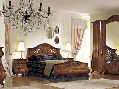 Итальянская кровать Monreale фабрики SIGNORINI & COCO