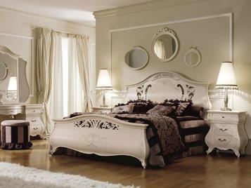 Итальянская кровать Monreale Laccata фабрики SIGNORINI & COCO