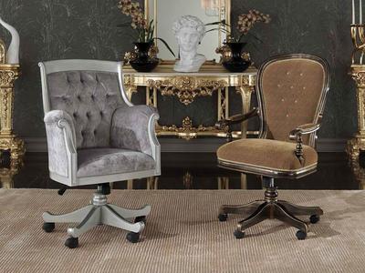 Итальянские вращающиеся кресла фабрики Morello Gianpaolo