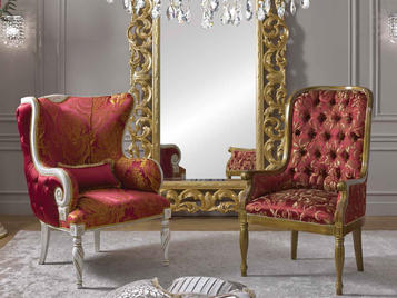 Итальянские кресла Valeria & Cristian фабрики Morello Gianpaolo