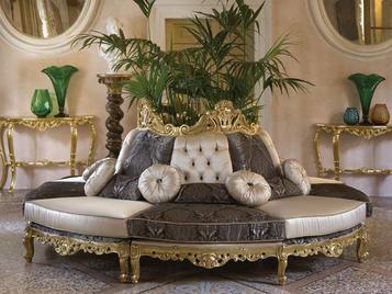 Итальянская мягкая мебель Round Cafe Paris фабрики Morello Gianpaolo
