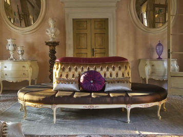 Итальянская мягкая мебель Polly фабрики Morello Gianpaolo