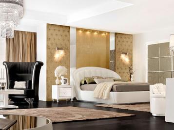 Итальянская спальня Atlantique фабрики Florence Collections Композиция A54