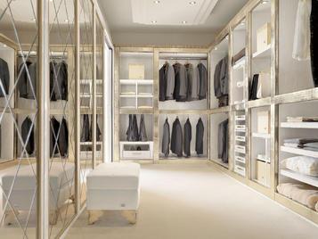 Итальянская гардеробная Atlantique фабрики Florence Collections Композиция A53