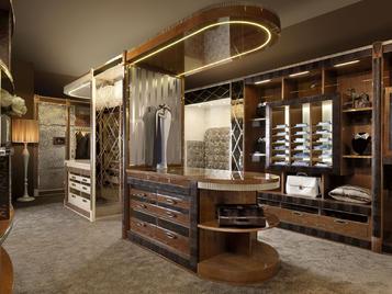 Итальянская гардеробная Abitare фабрики Florence Collections