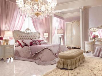 Итальянская спальня Diamante Laccata фабрики BARNINI OSEO