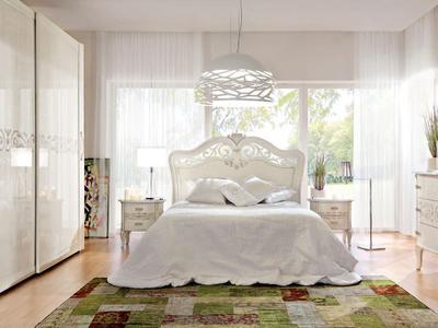 Итальянская спальня News Fashion Time Bianco Lucido фабрики BARNINI OSEO