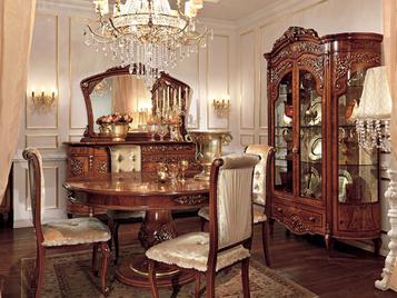 Итальянская гостиная Reggenza Luxury фабрики BARNINI OSEO