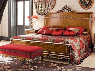 Итальянская спальня фабрики Modenese Gastone Композиция 02