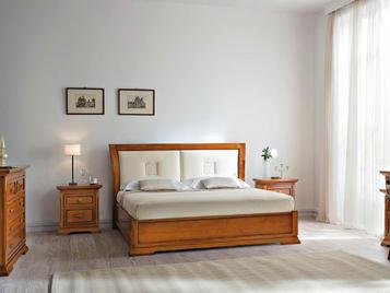 Итальянская двуспальная кровать Bohemia фабрика Prama