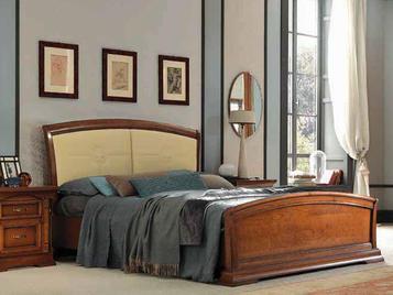 Итальянская двуспальная кровать Palazzo Ducale Ciliegio фабрики Prama