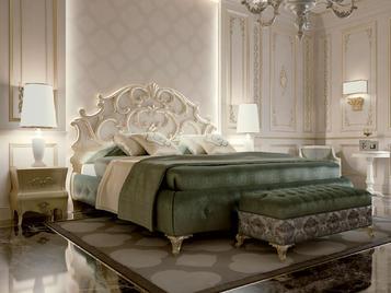 Итальянская спальня Dubai фабрики CARPANESE HOME (Композиция 2)