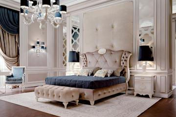 Итальянская спальня Como фабрики CARPANESE HOME (Композиция 2)