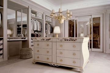 Итальянская гардеробная Como фабрики CARPANESE HOME