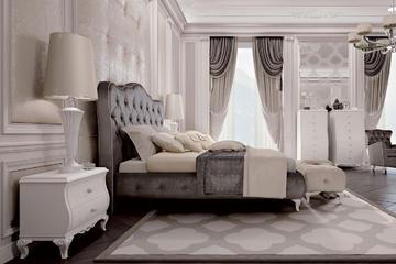 Итальянская спальня Como фабрики CARPANESE HOME (Композиция 3)