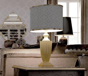 Итальянская настольная лампа 5412 фабрики CARPANESE HOME