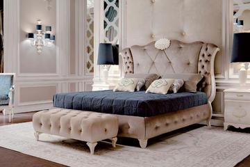 Итальянская кровать 6289 фабрики CARPANESE HOME