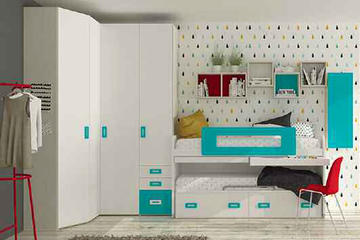 Итальянская детская спальня фабрики HAPPY (Композиция 574)