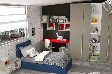 Итальянская детская спальня фабрики HAPPY (Композиция 576)