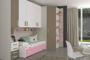 Итальянская детская спальня фабрики HAPPY (Композиция 577)