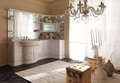 Итальянская мебель для ванной COMP. N.2 LUXURY фабрики EURODESIGN