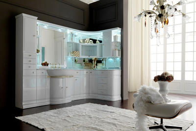 Итальянская мебель для ванной COMP. N.5 LUXURY фабрики EURODESIGN